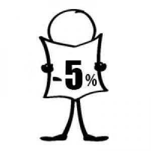 Előfoglalási kedvezmény - 5%